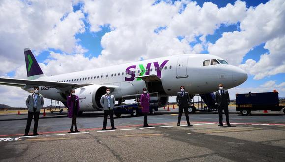 Aerolínea se compromete en ayudar a los afectados por el sismo en Piura. (Foto: Sky Perú)