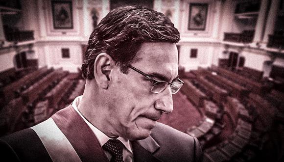 Martín Vizcarra ha sido acusado por cuatro aspirantes a colaboradores eficaces de recibir sobornos por S/2'300.000 por las obras de Lomas de Ilo y del hospital regional de Moquegua. (Foto: El Comercio)