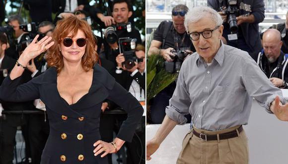 """Susan Sarandon: """"No tengo nada bueno que decir sobre Woody"""""""