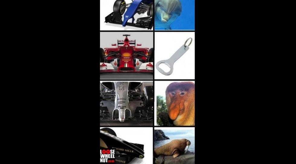 FOTOS: Divertidos memes por los diseños de la Fórmula 1 - 1
