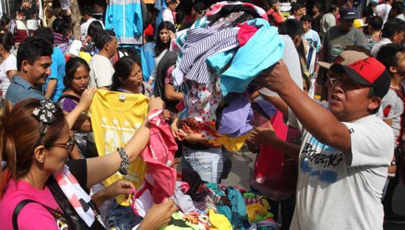Avance del sector comercio representa su mayor ritmo en 10 meses  (Foto: Andina)