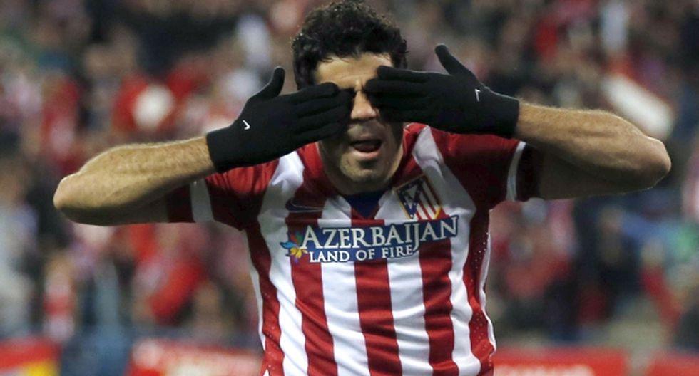 ¿A quién iba dirigida la celebración de Diego Costa?