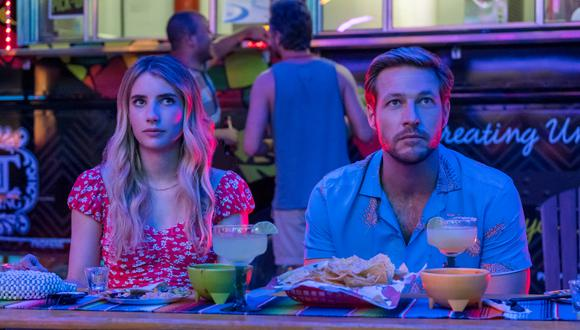"""""""Holidate"""" (""""Amor de calendario"""") explota todos los clichés del género, pero es consciente de sus limitaciones. Foto: Netflix."""