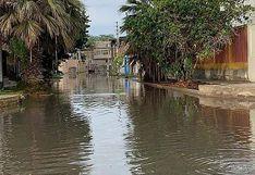 Piura: calles y avenidas quedan inundadas tras intensas lluvias