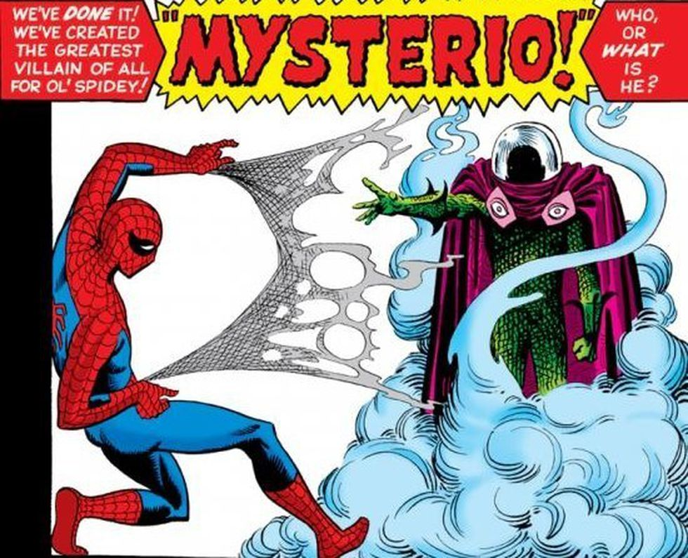 Mysterio hará su debut cinematográfico en la película de 2019, Spider-Man: Far From Home, interpretado por Jake Gyllenhaal (Foto: Sony Pictures)