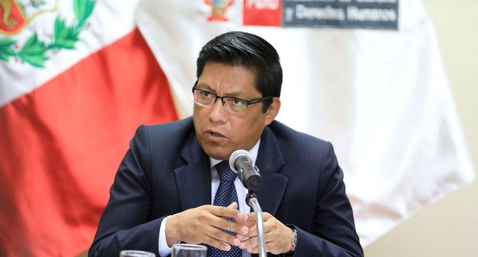 El presidente del Consejo de Ministros, Vicente Zeballos, hizo un llamado para que la ciudadanía vote responsablemente en enero del 2020. (Foto: Andina)