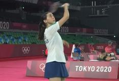 Daniela Macías perdió ante Ongbamrungphan en su debut en bádminton en Tokio 2020
