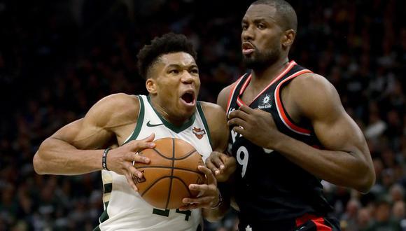 Bucks vs. Raptors EN VIVO vía DirecTV Sports: cuarto cuarto del Juego 2 en final Conferencia Este de la NBA. (Foto: AFP)