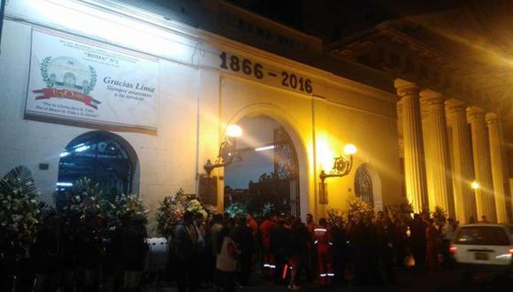 Bomberos fallecidos son velados en compañía Roma II