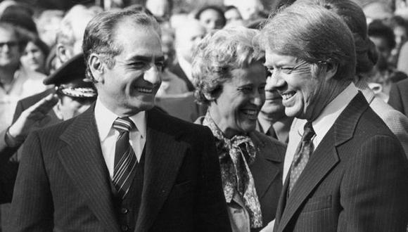 Jimmy Carter fue el último presidente estadounidense hasta la fecha en viajar a Irán, con quien Estados Unidos rompió relaciones en 1980 durante la llamada crisis de los rehenes. (Foto: Getty Images, vía BBC Mundo).