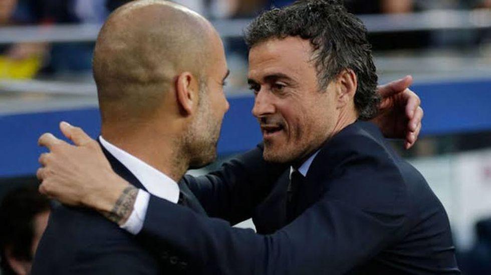 Pep Guardiola y Luis Enrique dirigieron al FC Barcelona