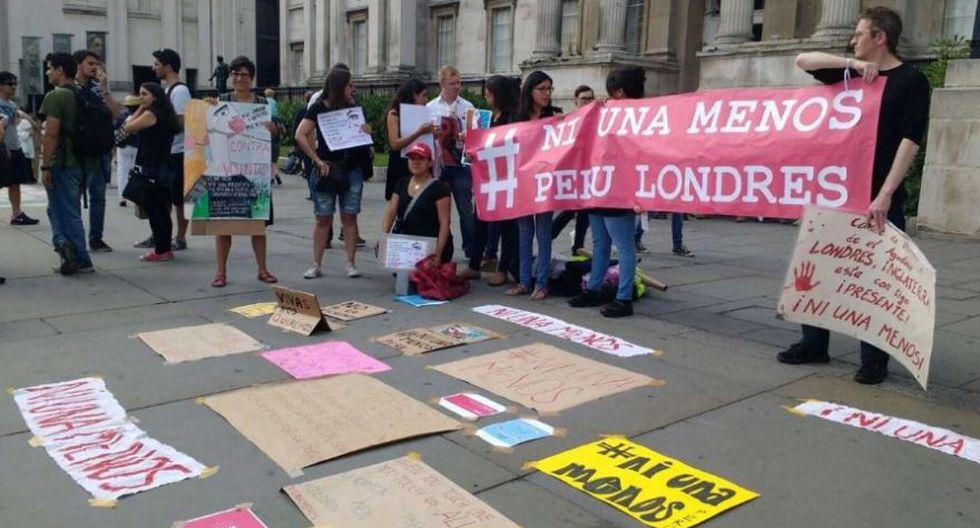 #NiUnaMenos: Peruanos en el mundo se suman a la marcha [FOTOS] - 9