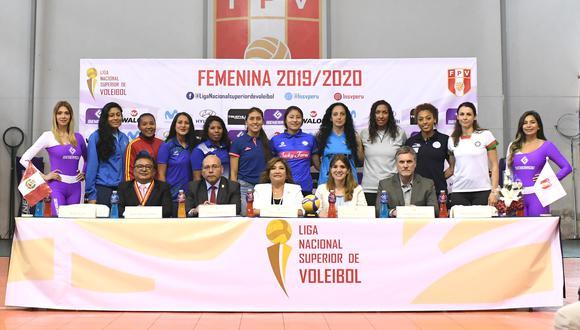 El sábado arrancará la temporada 2019-20 de la Liga Nacional Superior de Vóleibol Femenino. (Foto: ITEA)