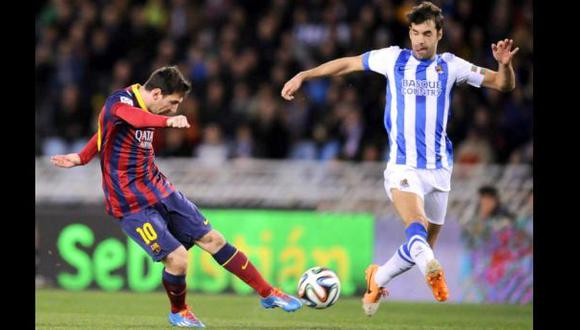 Messi aventaja a Cristiano como goleador de la Copa del Rey