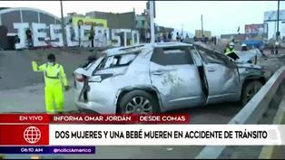 Comas: dos mujeres y una bebé mueren al ser arrolladas por una camioneta