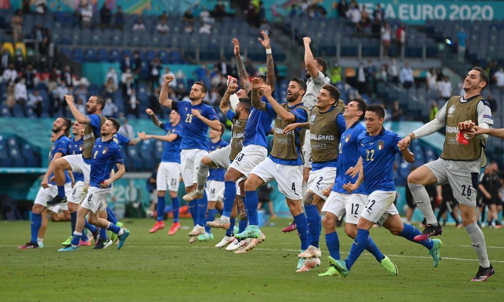 Italia vs. Gales: las imágenes del partido por la Eurocopa 2021 | Foto: REUTERS