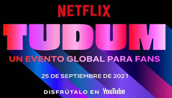 El gran evento de la plataforma se llevará a cabo este sábado 25 de septiembre y podrás verlo vía redes sociales. (Imagen: Netflix)