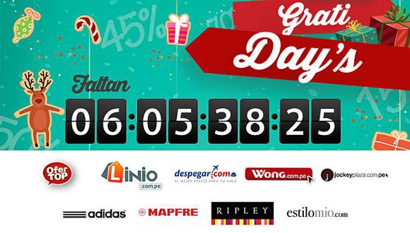 Shopin.pe lanza campaña Grati Day's con grandes ofertas