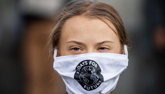 """Para Greta Thunberg, al igual que en la lucha contra el cambio climático, se debe """"ayudar a los más vulnerables en primer lugar"""". (Archivo / JONATHAN NACKSTRAND / AFP)."""