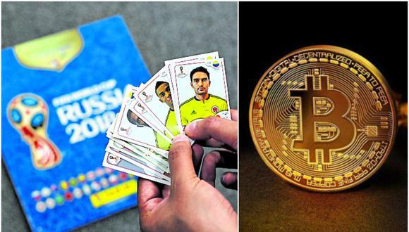 """""""Ahora que se está poniendo en tela de juicio el valor del 'bitcoin' en el mercado internacional, les sugiero que vean en las figuritas del Mundial una buena alternativa para hacer futuras transacciones"""", opina Rosales."""