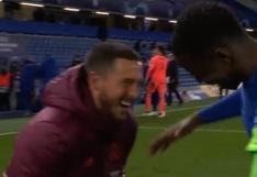 Eden Hazard fue criticado en redes sociales tras ser captado riéndose con jugadores del Chelsea   FOTO