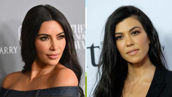 Kim Kardashian y su hermana Kourtney se agarran a golpes en el primer capítulo de la nueva temporada de su reality. (Foto: AFP)