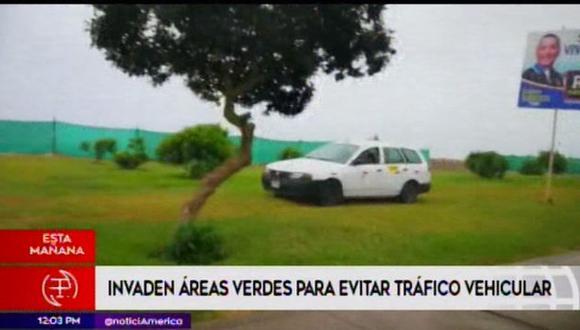 Ninguna autoridad detiene las maniobras temerarias de los conductores en la Costanera. (América Noticias)