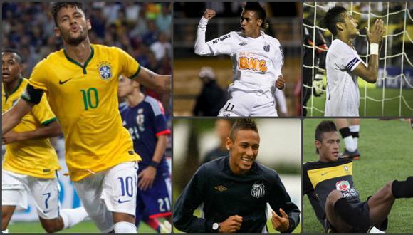 Mira los cinco 'póker' de Neymar en su carrera profesional