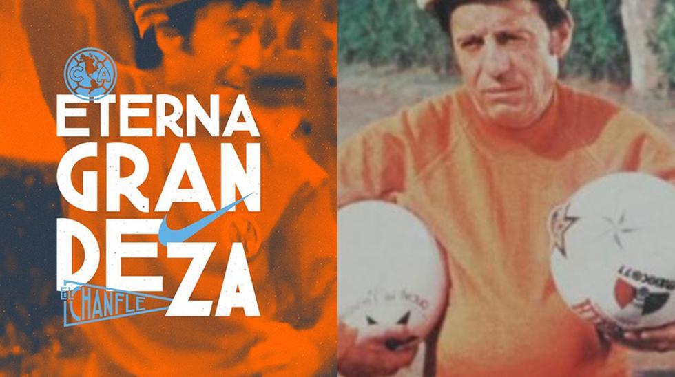 Imágenes de la camiseta que lanzó el club América de México a través de su página de Facebook