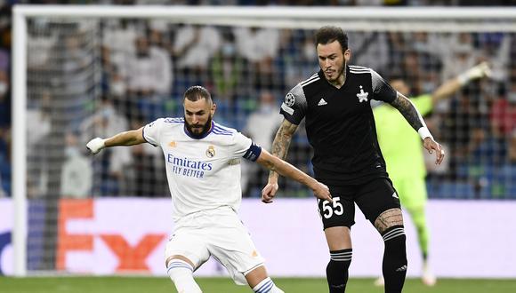Gustavo Dulanto fue protagonista en la victoria del Sheriff sobre el Real Madrid en la Champions | Foto: AP
