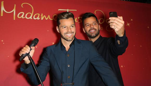 Ricky Martin conoció a su doble de cera en el Madame Tussauds