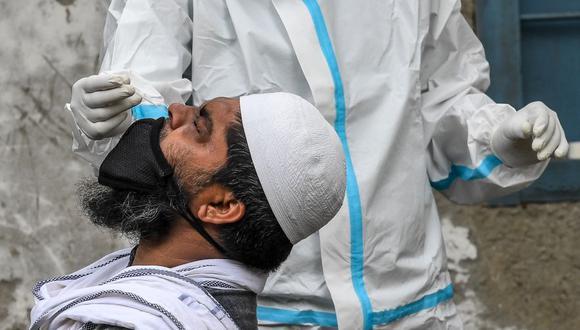 Coronavirus en India   Últimas noticias   Último minuto: reporte de infectados y muertos hoy, lunes 7 de setiembre del 2020   Covid-19   (Foto: Prakash SINGH / AFP).