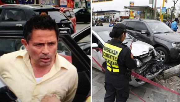 Miraflores: prisión preventiva para policía que mató a peatón