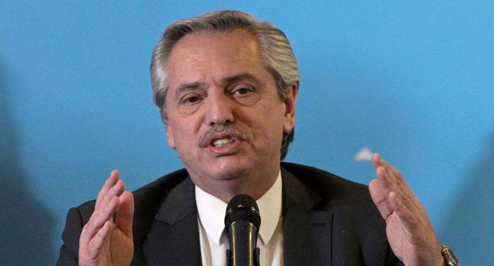 """Alberto Fernández anuncia gabinete con """"desafío"""" de acabar con la pobreza en Argentina. (Foto: AFP)"""