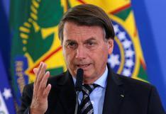 Bolsonaro insiste en no tomar vacuna contra el coronavirus y pone en duda eficacia de la mascarilla