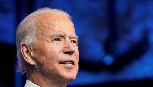 El presidente electo de Estados Unidos, Joe Biden, anuncia a sus nominados y nombramientos para Seguridad Nacional en su sede de transición en Wilmington, Delaware. (REUTERS / Joshua Roberts).