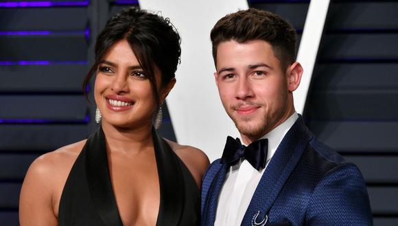 Con motivo del cumpleaños 27 de Nick Jonas, su esposa Priyanka Chopra le dedicó un video junto a un romántico mensaje. (Foto: AFP)