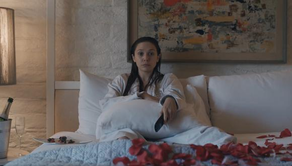 Elizabeth Olsen en el personaje de Leigh Shaw, debe enfrentar el duelo por la muerte de su esposo y aprender a regresar a la vida cotidiana. (Captura)