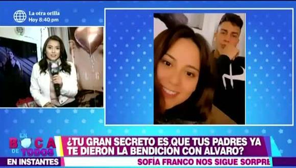 Amy Gutiérrez confirmó relación con bailarín de Daniela Darcourt. (Foto: Captura de video)