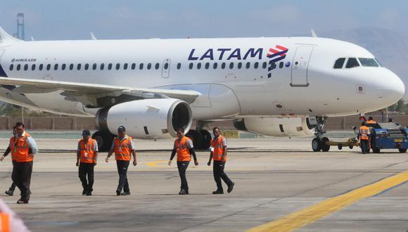 Al-Baker dijo que Qatar Airways, que tiene un miembro independiente en el directorio de Latam, no tenía aviso previo del acuerdo con Delta. (FOTOS: MIGUEL BELLIDO/EL COMERCIO)
