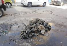 Chiclayo: arrojo excesivo de restos de comida genera colapsos en desagües