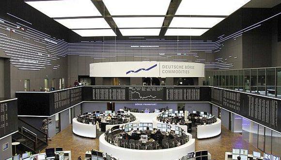 Bolsas europeas cierran cerca a máximos de cinco años
