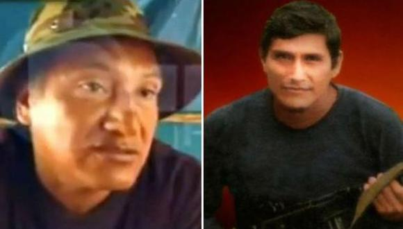 Jorge y Quispe Palomino encabezan actualmente las fuerzas subversivas que operan en el Vraem (Foto: archivo)