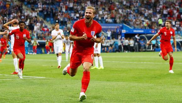 Kane celebrando una conquista con la selección inglesa. (Foto: England football team)