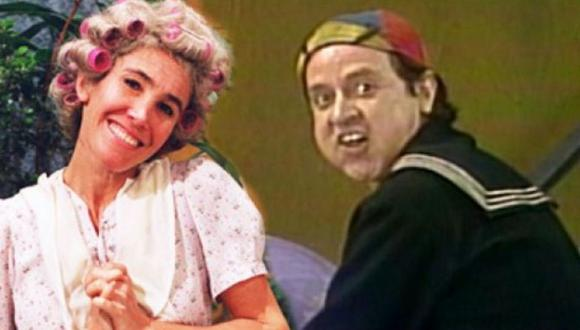 Quico y Doña Florinda durante el programa El Chavo del ocho. (Foto: Televisa)