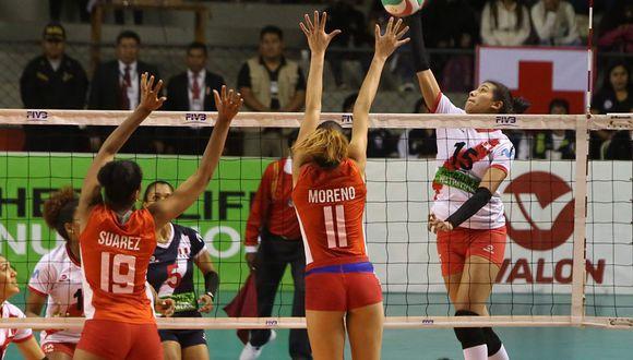 Karla Ortiz es la capitana del equipo en estos Juegos Lima 2019. (Foto: FPV)