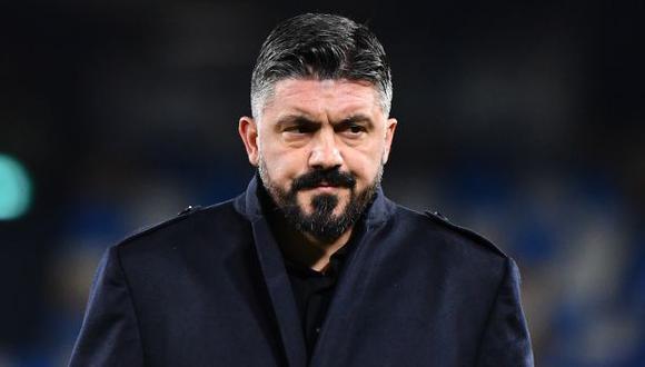 Gennaro Gattuso es el nuevo entrenador de la Fiorentina. (Foto: AFP)