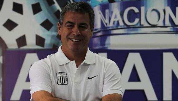 Pablo Bengoechea, técnico de Alianza Lima, felicitó el esfuerzo que hizo Leao Butrón para jugar ante Sporting Cristal. (USI).