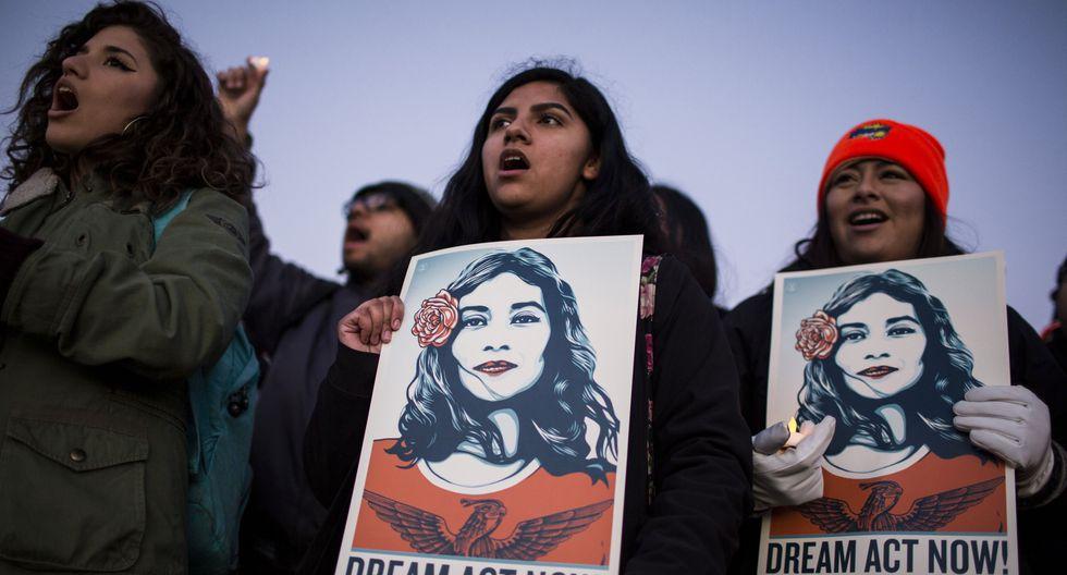 Los inmigrantes indocumentados conocidos como Dreamers también se beneficiarán con lo aprobado por la Cámara Baja de Estados Unidos. (Bloomberg).