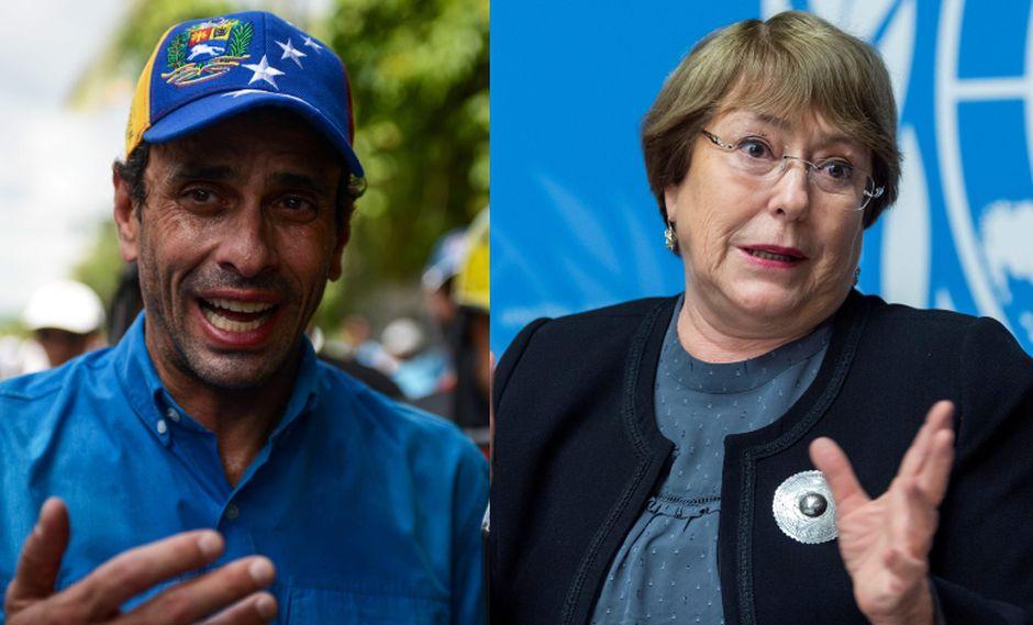 Henrique Capriles se expresó a través de su columna dominical publicada en su página web. (Foto: AFP / EFE).